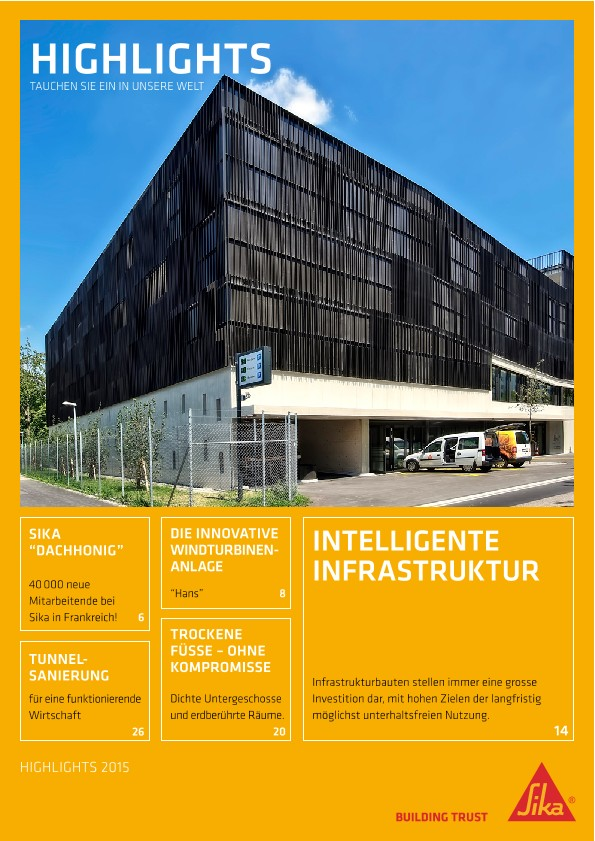 Sika® Highlights 2015