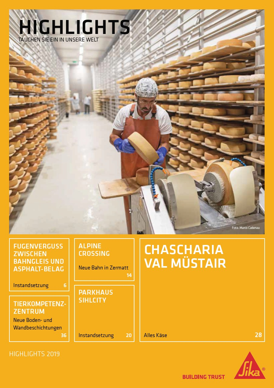 Sika® Highlights 2019, Ausgabe 2