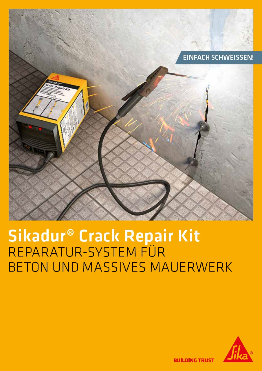 Sikadur® Crack Repair Kit